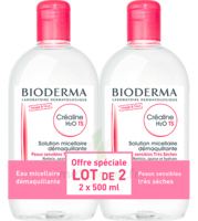 Crealine Ts H2o Solution Micellaire Sans Parfum Nettoyante Apaisante 2fl/500ml à ALBERTVILLE