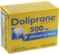 Doliprane 500 Mg Poudre Pour Solution Buvable En Sachet-dose B/12 à ALBERTVILLE