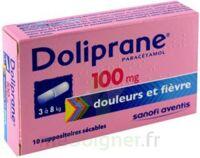 Doliprane 100 Mg Suppositoires Sécables 2plq/5 (10) à ALBERTVILLE