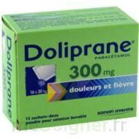 Doliprane 300 Mg Poudre Pour Solution Buvable En Sachet-dose B/12 à ALBERTVILLE