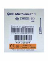 Bd Microlance 3, G25 5/8, 0,5 Mm X 16 Mm, Orange  à ALBERTVILLE