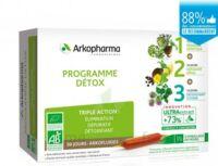 Arkofluide Bio Ultraextract Coffret Programme Détox 3x10 Ampoules/10ml à ALBERTVILLE