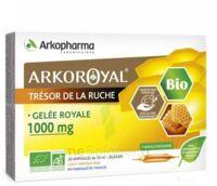 Arkoroyal Gelée Royale Bio 1000 Mg Solution Buvable 20 Ampoules/10ml à ALBERTVILLE