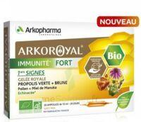 Arkoroyal Immunité Fort Solution Buvable 20 Ampoules/10ml à ALBERTVILLE