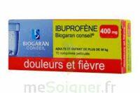 Ibuprofene Biogaran Conseil 400 Mg, Comprimé Pelliculé à ALBERTVILLE