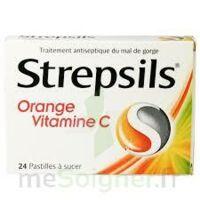 Strepsils Orange Vitamine C, Pastille à ALBERTVILLE