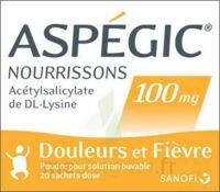 Aspegic Nourrissons 100 Mg, Poudre Pour Solution Buvable En Sachet-dose à ALBERTVILLE