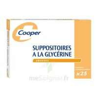 Suppositoires A La Glycerine Cooper Suppos En Récipient Multidose Adulte Sach/25 à ALBERTVILLE