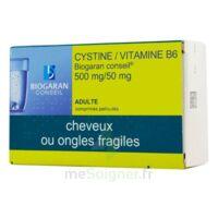 Cystine/vitamine B6 Biogaran Conseil 500 Mg/50 Mg Cpr Pell Plq/120 à ALBERTVILLE