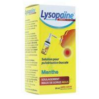 LysopaÏne Ambroxol 17,86 Mg/ml Solution Pour Pulvérisation Buccale Maux De Gorge Sans Sucre Menthe Fl/20ml à ALBERTVILLE