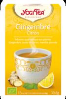Yogi Tea Gingembre Citron à ALBERTVILLE