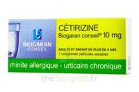 Cetirizine Biogaran Conseil 10 Mg, Comprimé Pelliculé Sécable à ALBERTVILLE