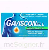 Gavisconell Coprimés à Croquer Sans Sucre Menthe édulcoré à L'aspartam Et à L'acésulfame Potas Plq/24 à ALBERTVILLE