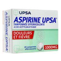 Aspirine Upsa Tamponnee Effervescente 1000 Mg, Comprimé Effervescent à ALBERTVILLE
