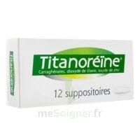Titanoreine Suppositoires B/12 à ALBERTVILLE