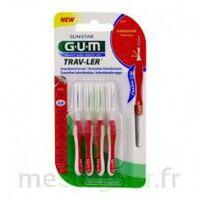 Gum Trav - Ler, 0,8 Mm, Manche Rouge , Blister 4 à ALBERTVILLE