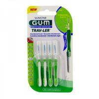 Gum Trav - Ler, 1,1 Mm, Manche Vert , Blister 4 à ALBERTVILLE