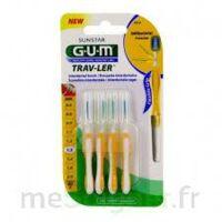 Gum Trav - Ler, 1,3 Mm, Manche Jaune , Blister 4 à ALBERTVILLE