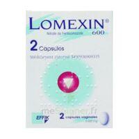 Lomexin 600 Mg Caps Molle Vaginale Plq/2 à ALBERTVILLE