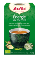 Yogi Tea Thé énergie Du Thé Vert Bio 17 Sachets à ALBERTVILLE