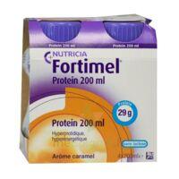 Fortimel Protein Nutriment Caramel 4 Bouteilles/200ml à ALBERTVILLE