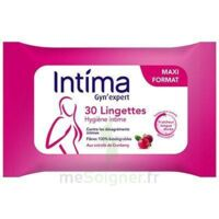 Intima Gyn'expert Lingettes Cranberry Paquet/30 à ALBERTVILLE
