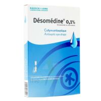 Desomedine 0,1 % Collyre Sol 10fl/0,6ml à ALBERTVILLE