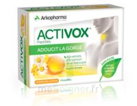 Activox Sans Sucre Pastilles Miel Citron B/24 à ALBERTVILLE