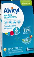 Alvityl Sucette Mal Des Transports B/10 à ALBERTVILLE