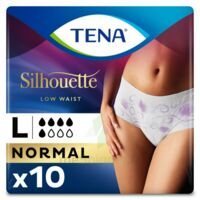 Tena Lady Silhouette Slip Absorbant Blanc Normal Large Paquet/10 à ALBERTVILLE