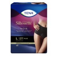 Tena Silhouette Plus Slip Absorbant Noir L Sachet/9 à ALBERTVILLE