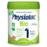 Physiolac Bio 1 Lait En Poudre B/800g à ALBERTVILLE